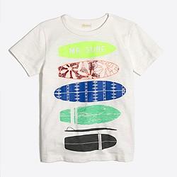 Boys' surfboards storybook T-shirt
