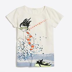 Girls' Maddie cannonball keepsake T-shirt