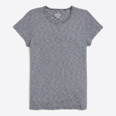 Indigo striped studio T-shirt