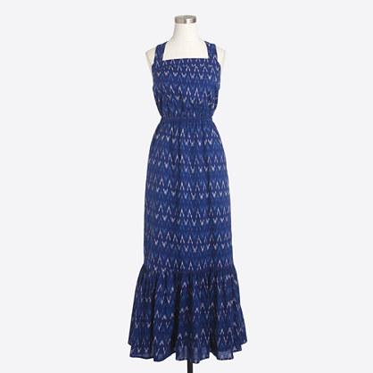 Ikat maxi dress