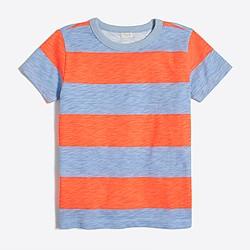 Boys' wide-stripe T-shirt