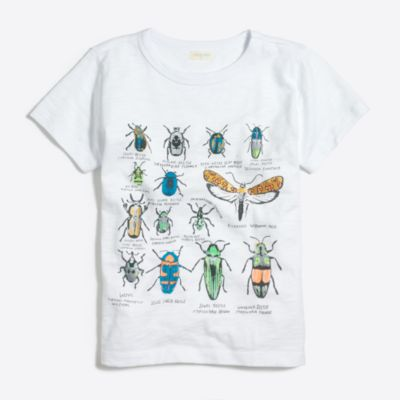 Boys' bugs storybook T-shirt