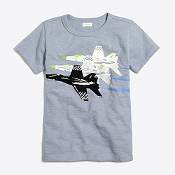 Boys' glow-in-the-dark flying jets storybook T-shirt
