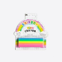 Kids' rainbow crayon