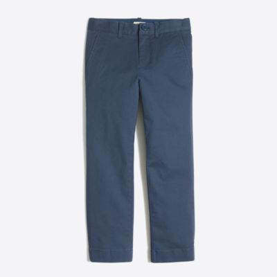 Boys' slim pant in flex chino factoryboys pants & shorts c