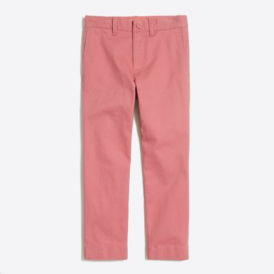 Boys' slim pant in flex chino factoryboys new arrivals c