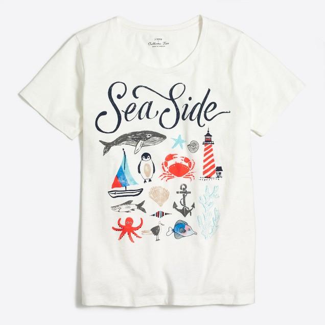 Sea life collector T-shirt