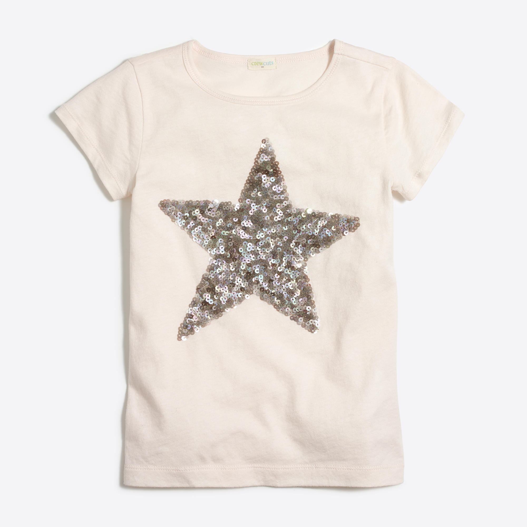 Girls 39 sequin star keepsake t shirt factorygirls for Girls sequin t shirt