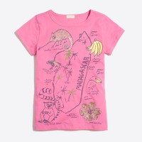 Girls' Madagascar keepsake T-shirt