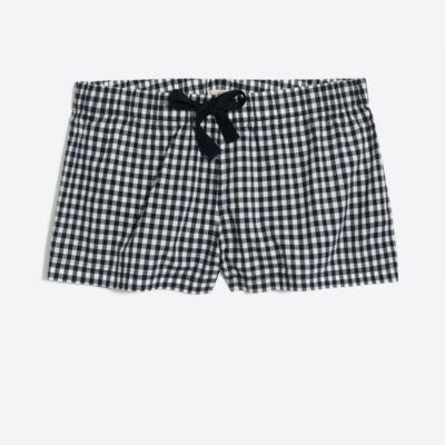 Printed sleep short factorywomen pajamas c