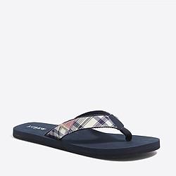 Patchwork flip-flops