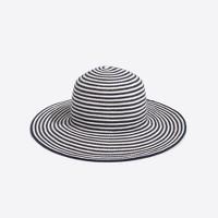 Striped cotton sun hat