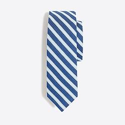 Boys' cotton stripe tie