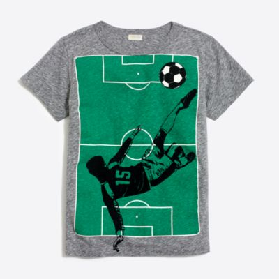 Boys' soccer storybook T-shirt