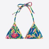 String bikini top in Tarrington floral print