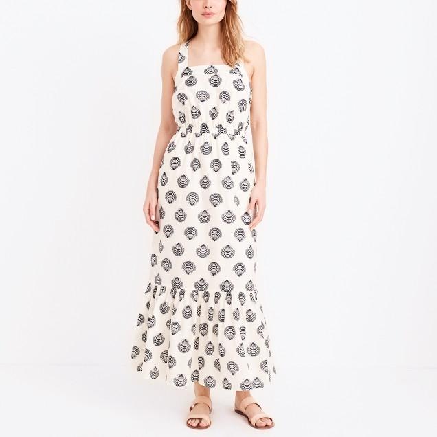 Voile maxi dress