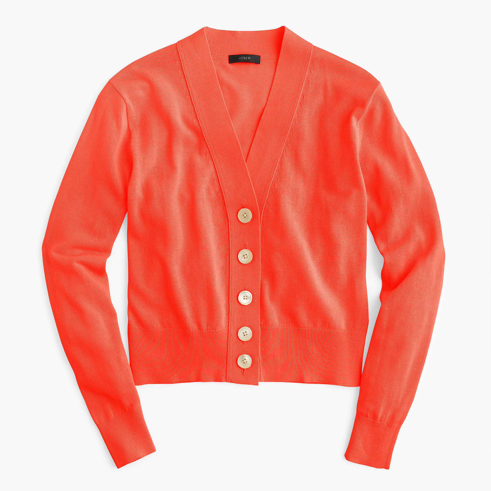 Cropped lightweight cardigan sweater : Women Cardigans & Shells ...
