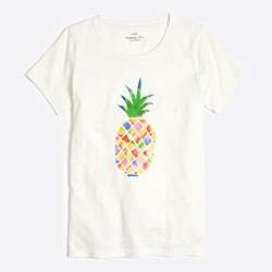 Colorful pineapple collector T-shirt