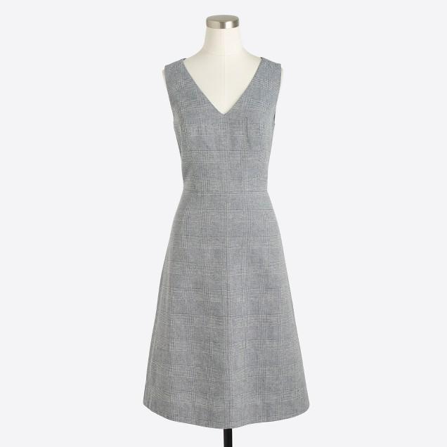 Tweed A-line dress