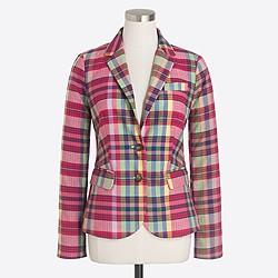 Printed schoolboy blazer