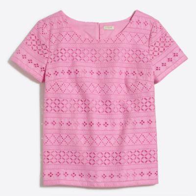 Lace T-shirt   search