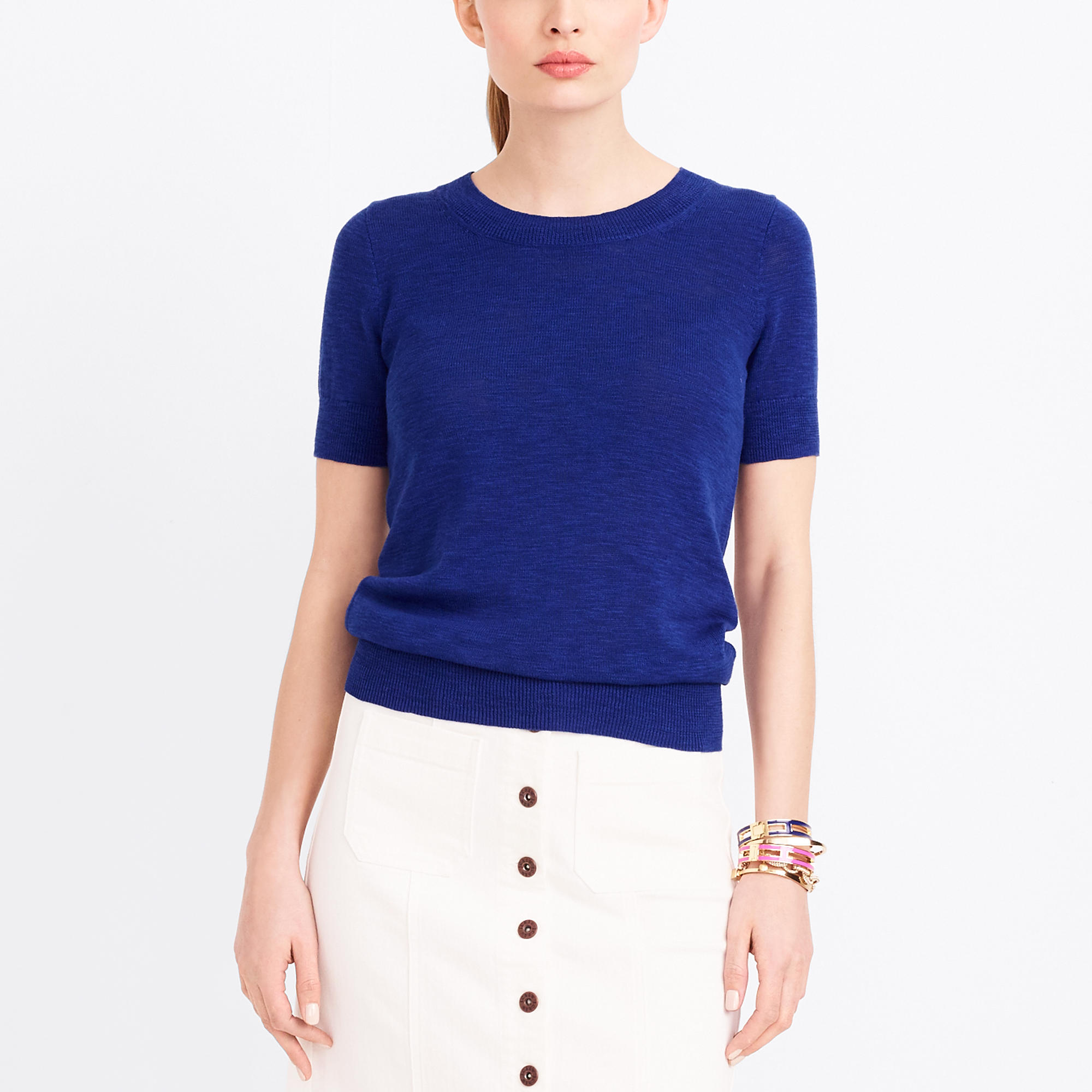Short-sleeve sweater : FactoryWomen Pullovers | Factory