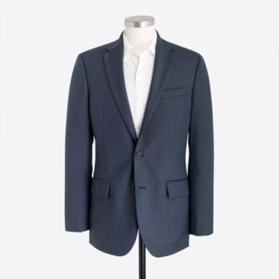 Classic-fit Thompson suit jacket in worsted wool factorymen thompson suits & blazers c