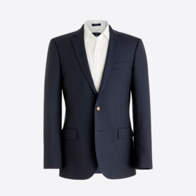 Slim Voyager suit jacket in lightweight wool