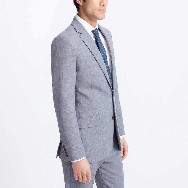 Slim Voyager suit jacket in lightweight wool : FactoryMen Suits ...