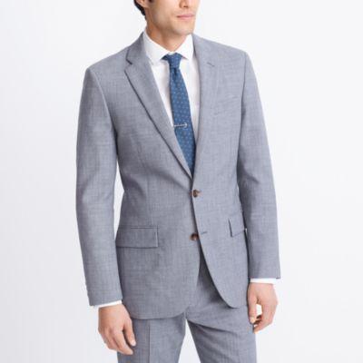 Slim Voyager suit jacket in lightweight wool factorymen thompson suits & blazers c