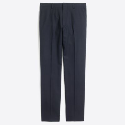 Slim Voyager suit pant in lightweight wool