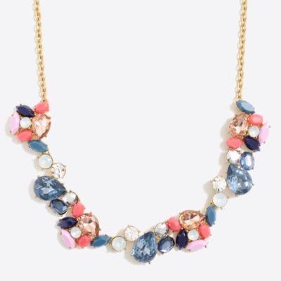 Crystal paint party necklace factorywomen jewelry c
