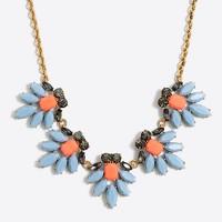 Crystal watchbird necklace