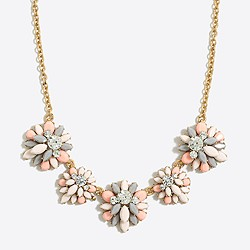Gemstone garden fiesta necklace