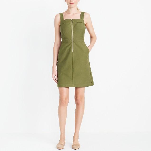 Overall pocket dress