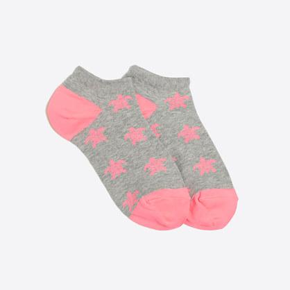 Turtle ankle socks