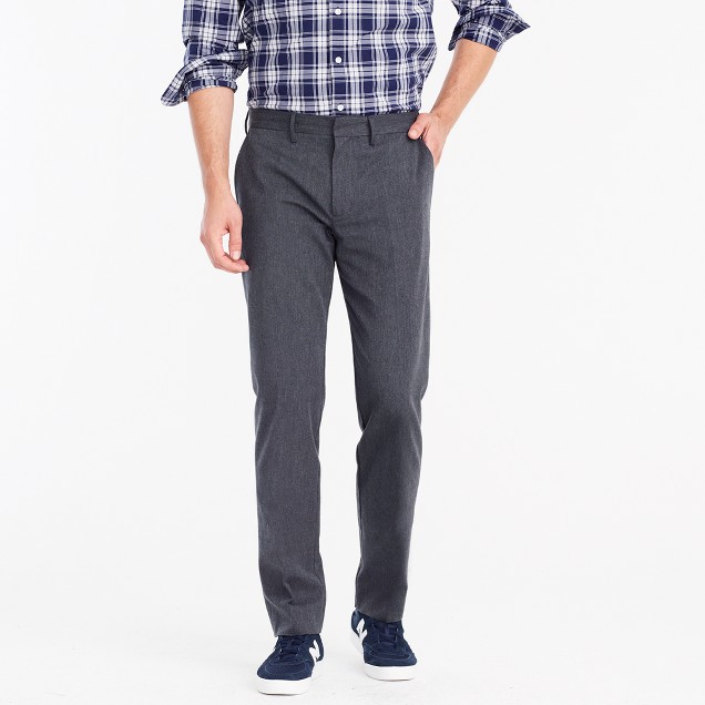 Bedford dress pant in brushed cotton twill