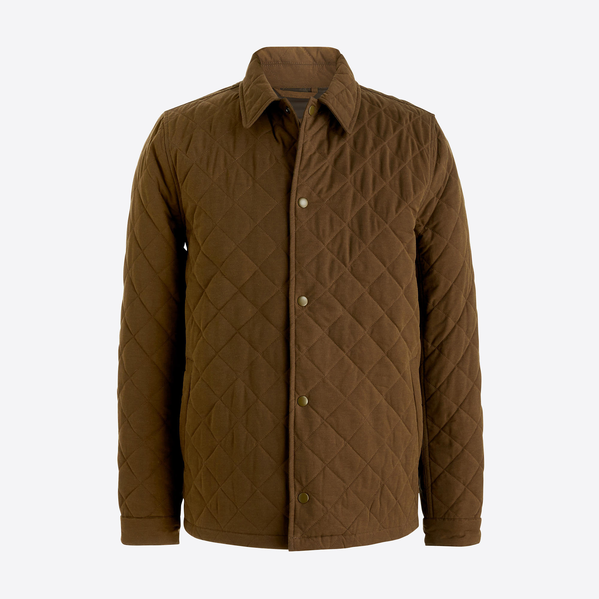 Quilted Nylon Jacket  FactoryMen Jackets | Factory
