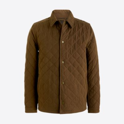 Quilted nylon jacket   sale