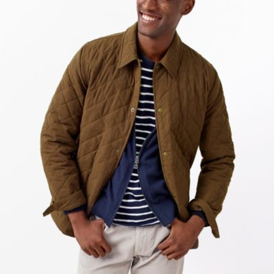 Quilted nylon jacket   search