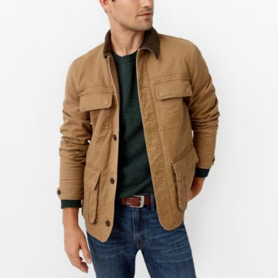 Flannel-lined barn jacket