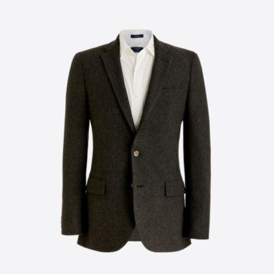 Thompson blazer in herringbone factorymen thompson suits & blazers c