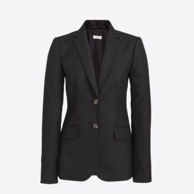 Lightweight wool blazer