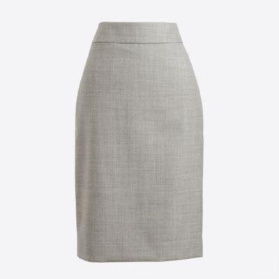 Lightweight wool pencil skirt factorywomen suiting c