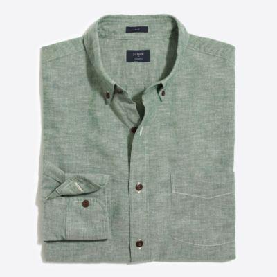 Slim homespun shirt