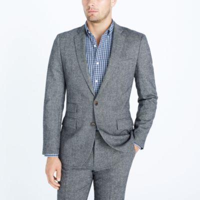 Slim Thompson suit jacket in Donegal wool   sale