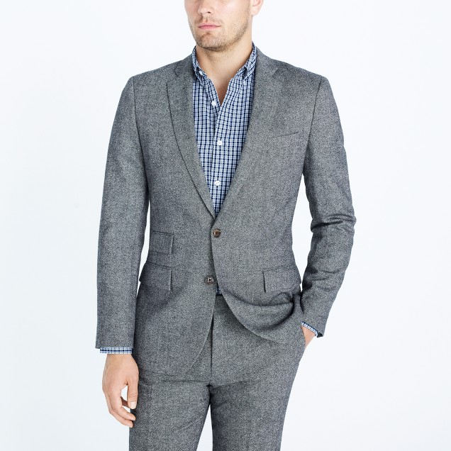 Slim Thompson suit jacket in Donegal wool