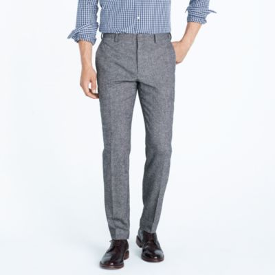 Slim Thompson suit pant in Donegal wool   sale