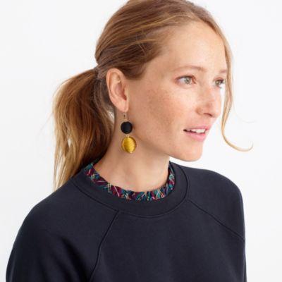 Lantern dangle earrings