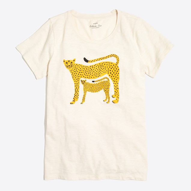 Cheetah collector T-shirt